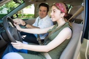 Parent with a teen driver