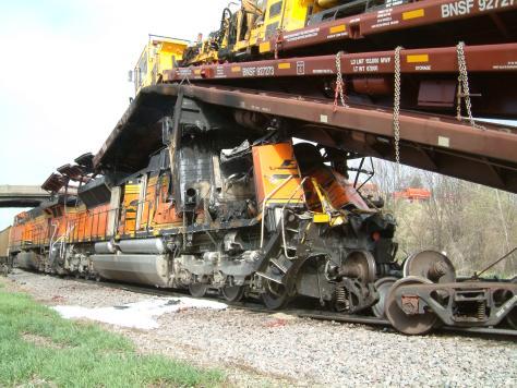 Red Oak Rail Wreck
