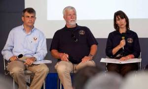 Dr. Loren Groff, Dr. Vern Ellingstad and Chairman Hersman field questions about the NTSB EAB Safety Study.