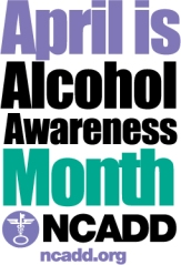 Alcohol Aweness Month 2013 logo