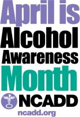 Alcohol Aweness Month 2013 logo