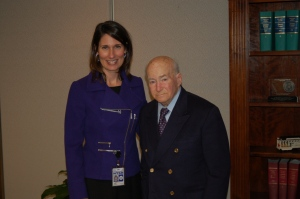 Chairman Hersman with  Hans Ephraimson-Abt