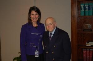 Chairman Hersman with  Hans Ephraimson-Abt