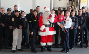 Chairman Hersman with Santa