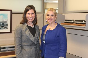 Chairman Hersman with Karla Damian