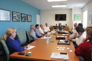 Chairman Hersman with Miami-Dade Transit staff