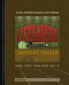Cover from Lifesavers 2014 conference program