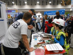 NTSB Staff at the the 2014 USA Science and Engineering Festival Expo in Washington, DC