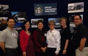 NTSB staff at the Lifesavers Booth