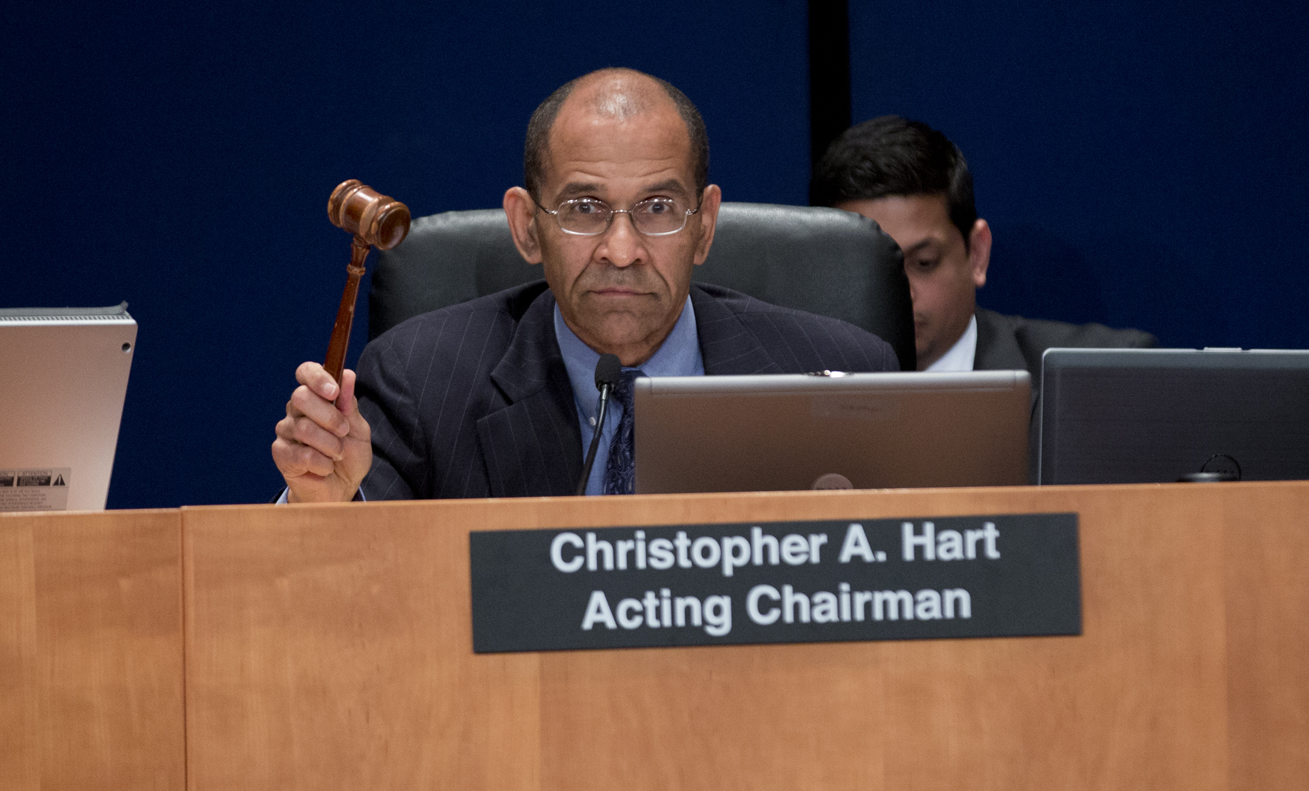 Acting Chairman Christopher A Hart
