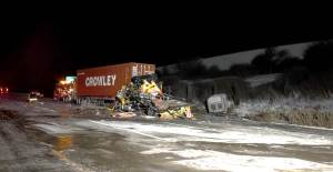 Truck accident in Naperville, IL