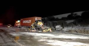 Truck accident in Naperville, IL