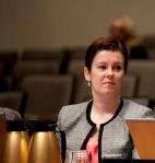 Danielle Roeber at the Reaching Zero forum