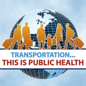 Transportation is Public Healt graphic
