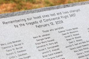 Flight 3407 memorial