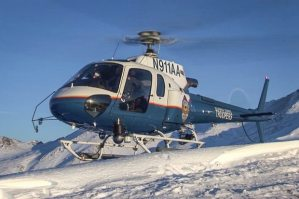 Picture of Alaska Department of Public Safety Helicopter