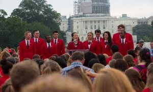 Vice Chairman Dinh-Zarr addressed teen leaders on transportation safety as a public health issue at the Family, Career and Community Leaders of America (FCCLA) Leadership Seventy Years Strong Rally on the National Mall.