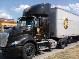 Photo of UPS truck