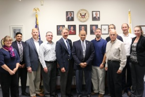 Chairman Hart with NTSB Colorado Regional staff