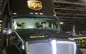 Chairman Hart at UPS in Colorado