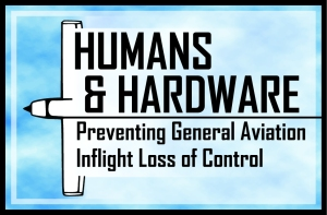 Humans and Hardware: Preventing General Aviation Inflight Loss of Control logo.