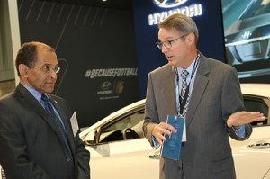 Chairman Hart at the 2016 Washington Auto Show