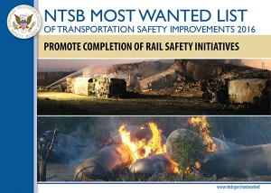 Promote Completion of Rail Safety Initiatives poster
