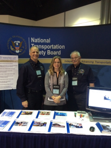 NTSB staff at the UMA Motorcoach Expo 2016
