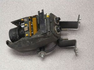 Seen here, the DPS helicopter's Appareo Systems Vision 1000 cockpit imaging and flight data monitoring device recovered from the March 30, 2013, crash of a Eurocopter AS350.