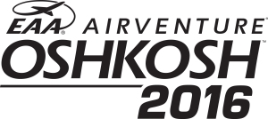 Logo for EAA AirVenture Fly In 2016