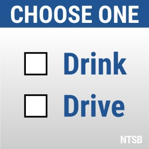 Graphic: choose one: Drink or Drive