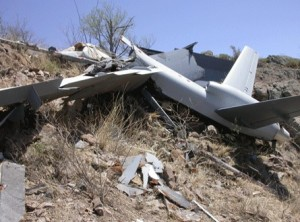 CBP MQ-9 crash near Nogales, Arizona, in 2006