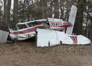 April 27, 2013, Piper PA-28R-180 airplane crash near Norfolk, Nebraska.