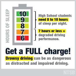 Back-to-School Safety: Wake Up to Drowsy Driving | NTSB