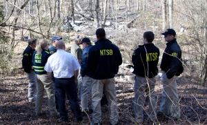 NTSB Investigators Onscene