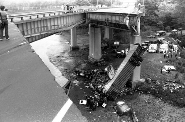1983 bridge collapse in Greenwich CT