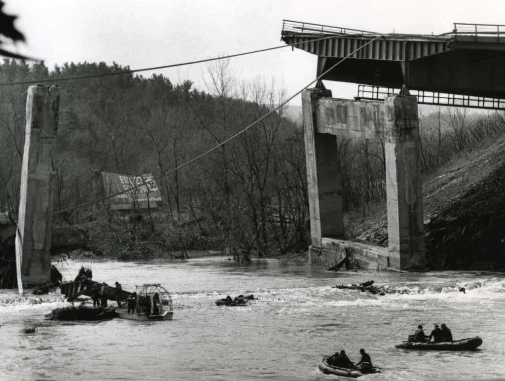 1987 bridge collapse near Amsterdam, New York