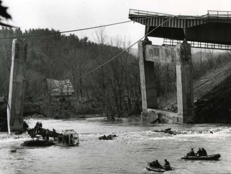 1987 bridge collapse near Amsterdam, New York