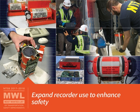 Expand recorder use to enhance safety
