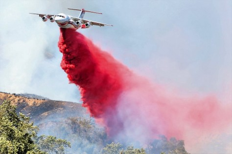San Bernardino, CA, Wildfire- Image by Ben Cottman
