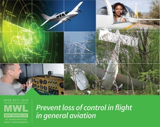 Prevent loss of control in flight in general aviation