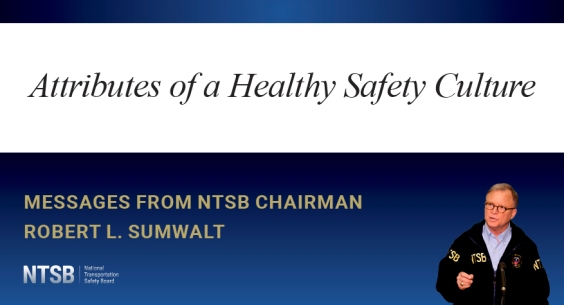 Attributes of a Healthy Safety Culture