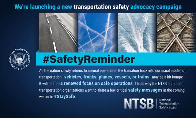Returning to Travel with Safety on the Mind | NTSB Safety Compass