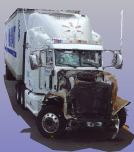 Three-dimensional scan of the Peterbilt combination vehicle involved in the June 7, 2014, crash in Cranbury, New Jersey.
