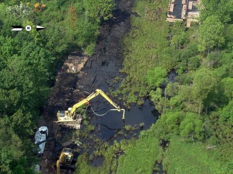 July 25, 2010, Marshall, Michigan pipeline rupture